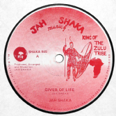 Jah Shaka - Giver Of Life / Jah Shaka & Fasimbas - Life Time Dub (Jah Shaka Music) UK 12""